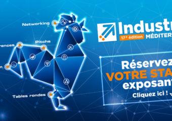 Industriels : rdv au salon forum Industria Méditerranée les 06 et 07 novembre 2018
