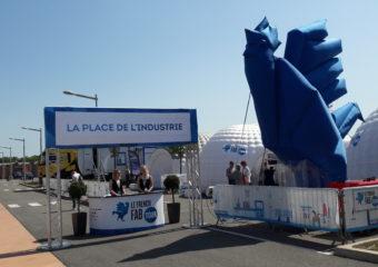 Le Coq bleu arrive en Occitanie : 1re étape, Montpellier