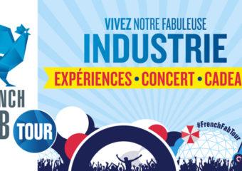 French Fab Tour : la tournée d'été du 16 juillet au 14 août 2019