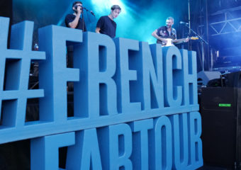 Talisco sur la scène du French Fab Tour au Cap d'Agde