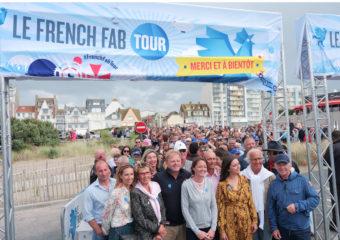 Le French Fab Tour accoste sur les plages du Touquet