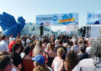 Le French Fab Tour prend un bain de foule à la Rochelle