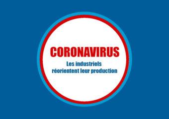 Coronavirus : les industriels réorientent leur production