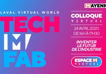 Vendredi, participez à la conférence Tech M Fab !