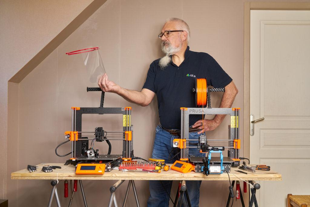 Alain Eymann, responsable technique projet