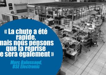 BSE Electronic mise sur la prospection commerciale pour pallier le repli d'activité