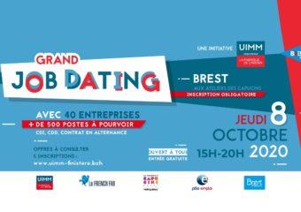 Un grand job dating organisé à Brest à l'initiative de l'UIMM : l'industrie recrute !