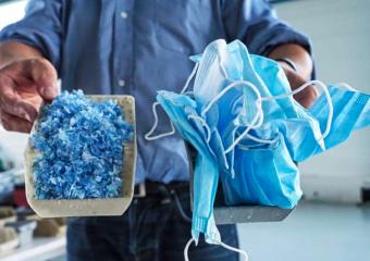 Plaxtil: recycler les masques jetables pour mieux les transformer